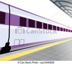 Subway clipart railway platform