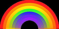 Colors clipart rainbow
