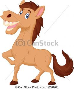 Ranch clipart happy horse