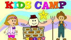 Randome clipart kids camp