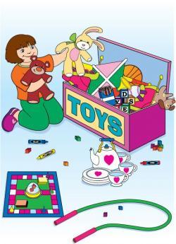 Randome clipart kids toy