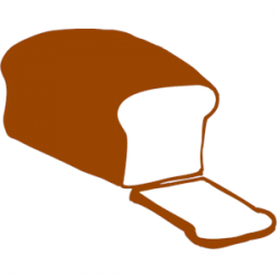 Roti clipart sliced bread