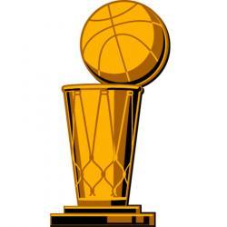 Trophy clipart nba basketball
