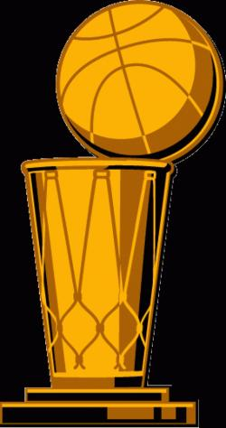 Trophy clipart nba champion