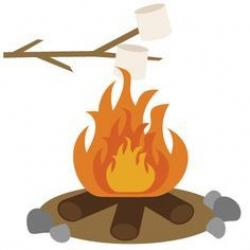 Camp Fire clipart smore
