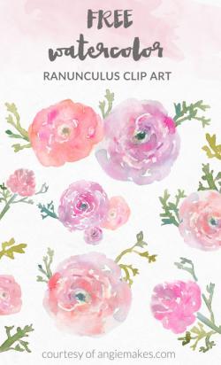 Ranuncula clipart free mason