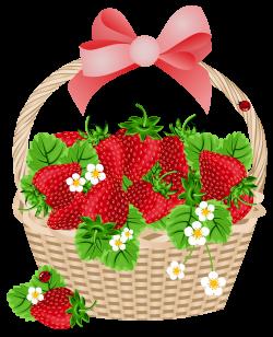 Rapsberry clipart strawberry basket