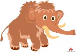 Mammoth clipart cartoon
