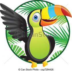 Toucanet clipart jungle bird