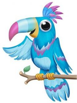Toucan clipart parrot