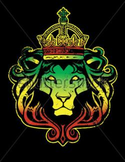 Reggae clipart lion