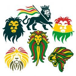 Rasta clipart lion