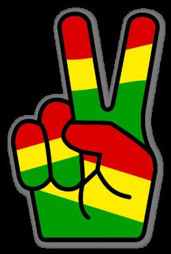 Rastas clipart peace