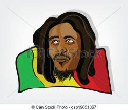 Rastas clipart jamaican