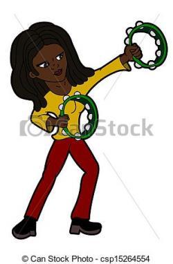 Rastas clipart woman