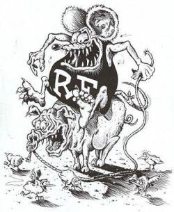 Rat Fink clipart