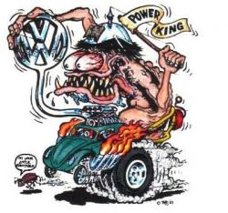 Rat Fink clipart casino