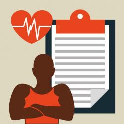 Rate clipart cardiovascular fitness