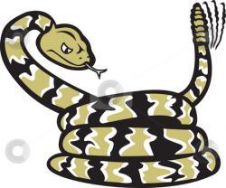 Small clipart rattlesnake