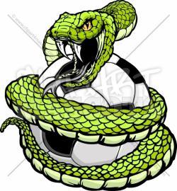 Python clipart viper snake