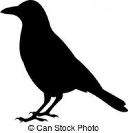 Crow clipart graphic