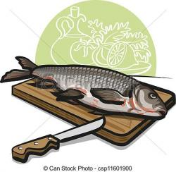 Fresh clipart raw fish