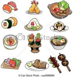 Japanese Food clipart japanese culture