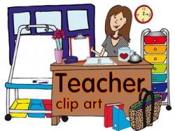 Hallway clipart pretty teacher