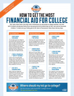 Real World clipart financial aid