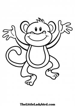 Baboon clipart drawing