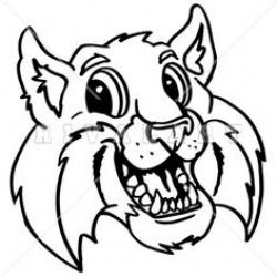 Wildcat clipart friendly