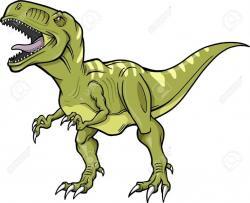 Ferocious clipart t rex