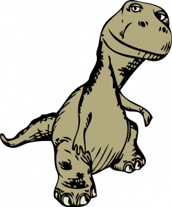 Extinct clipart t rex