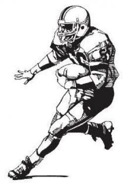 Receiver clipart football offensive lineman
