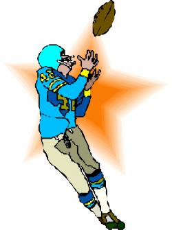 Receiver clipart football pass