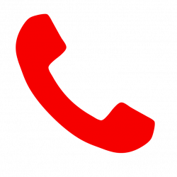 Receiver clipart red phone