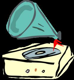 Record Player clipart cartoon