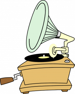 Record Player clipart transparent