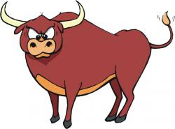 Red Bull clipart bullfight