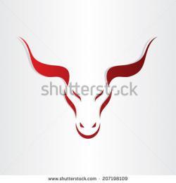 Red Bull clipart bullock