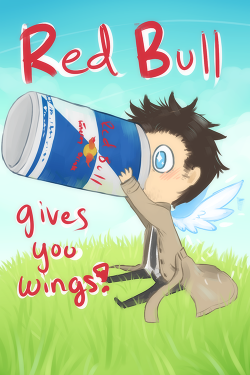 Red Bull clipart cute
