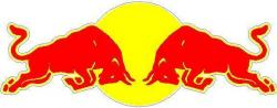 Red Bull clipart outline
