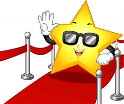 Celebrity clipart movie star