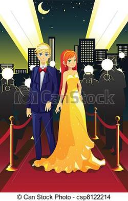 Celebrity clipart red carpet