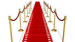 Red Carpet clipart cinema