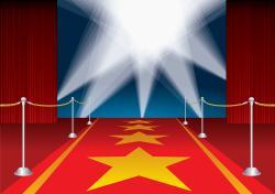 Broadway clipart red carpet premiere