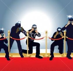 Red Carpet clipart photographer