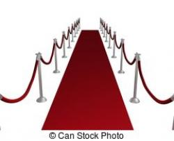 Red Carpet clipart royal red