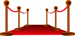 Red Carpet clipart symbol