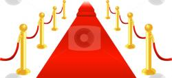 Red Carpet clipart vip